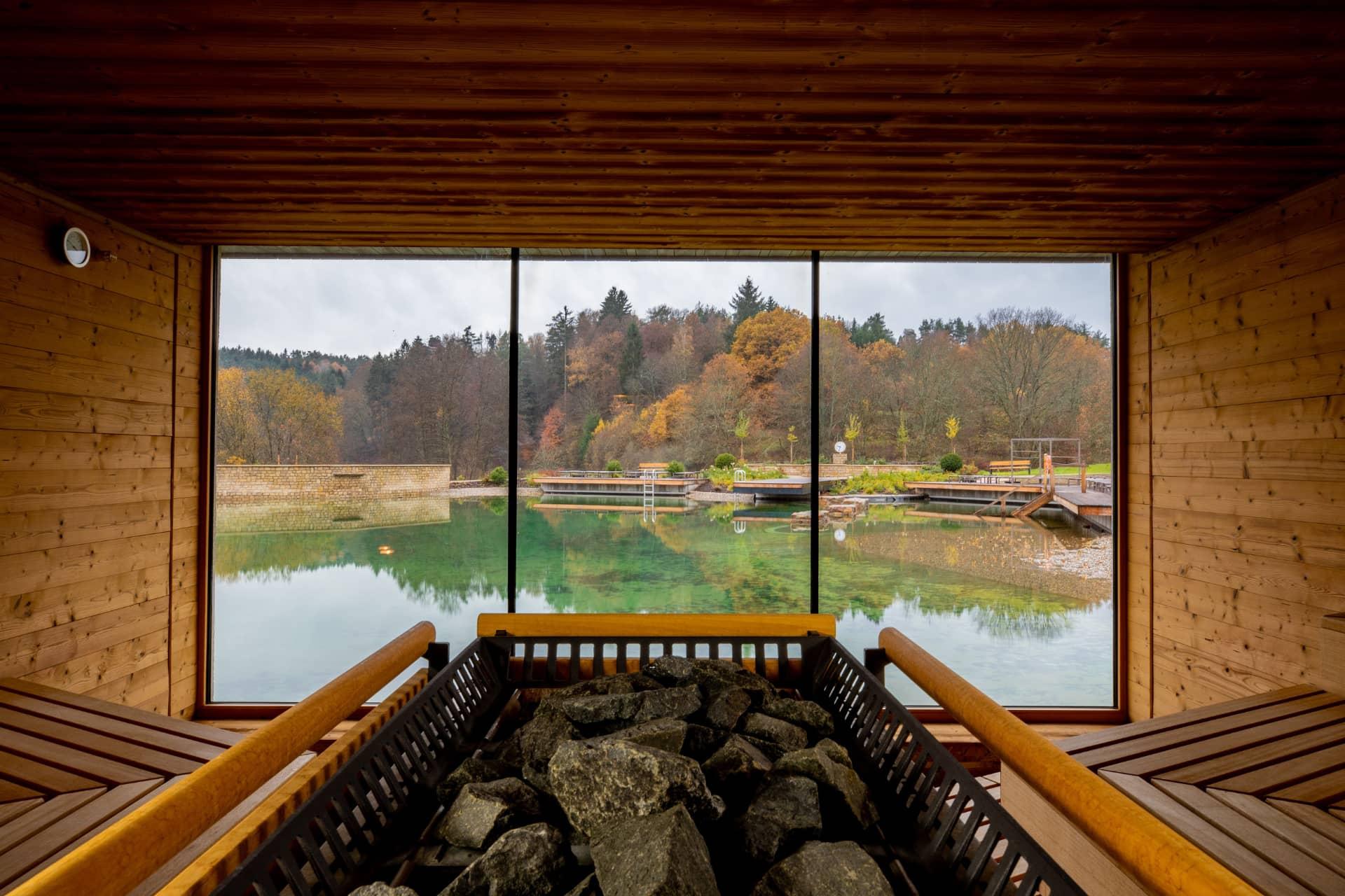Fastenwandern Hotel Pfalzblick Sauna