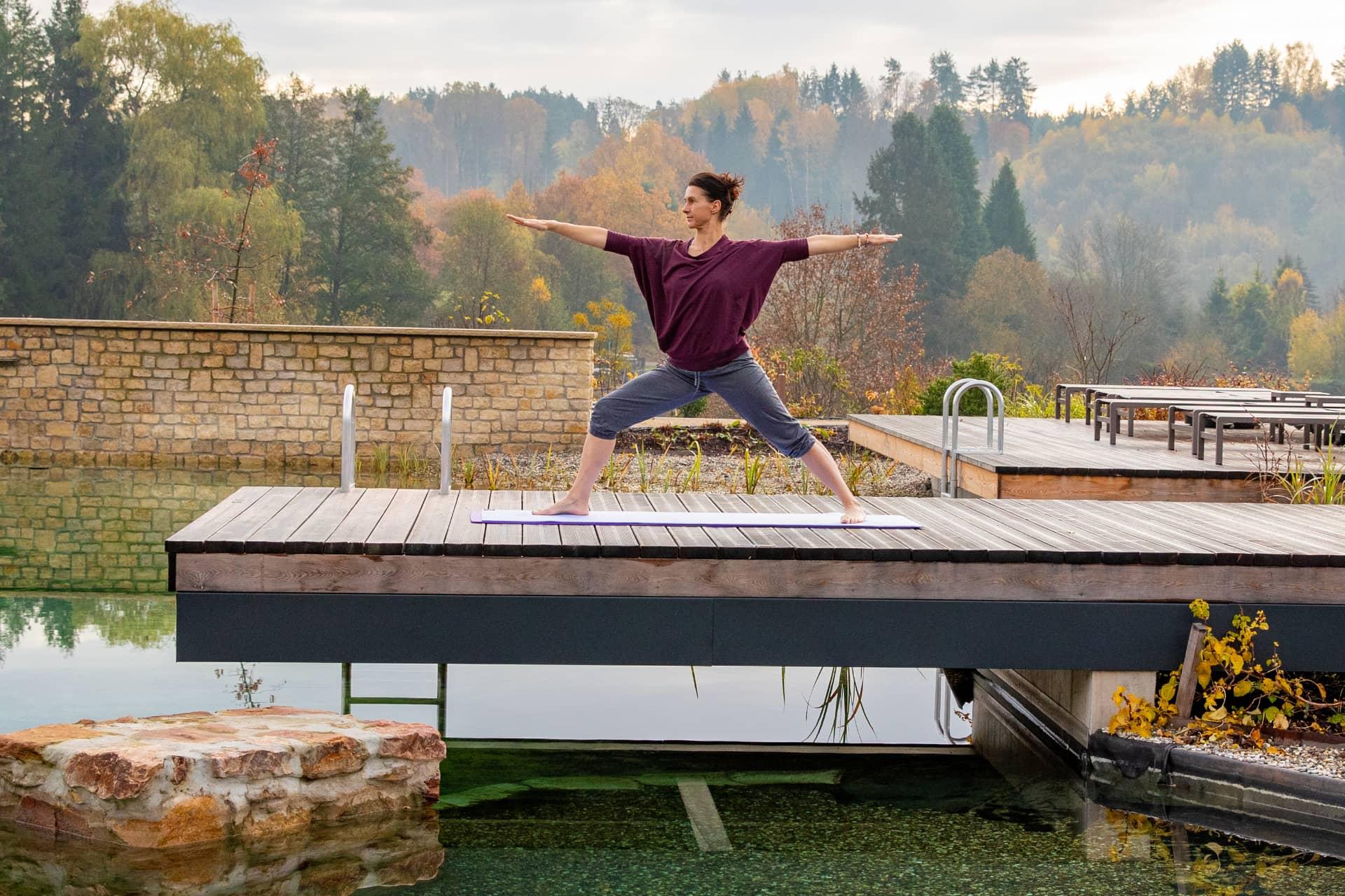AUSZEIT Fasten - Fasten nach Buchinger - Yoga im Hotel Pfalzblick
